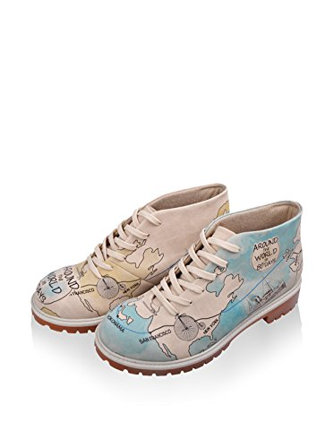 Days Schnürstiefelette World The All DOGO Around in 80 Damen pv1xw6qT
