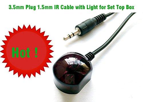 3.5mm Plug IR Cable 1.5m con luz para DVB, Set Top Box. Shenzhen YFO Co Ltd