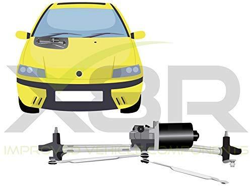 Punto 1999-2006 Acoplamiento Motor Limpiaparabrisas Reparación Recambio Barra Set Reparación