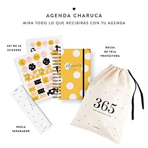 Charuca AG55 - Agenda, color amarilla