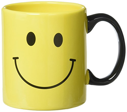 Burton & Burton 9730459 Smiley Face Mug Yellow -
