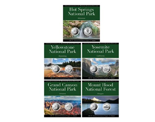 2010 National Park Quarter Collection Annual Pack Set Uncirculated