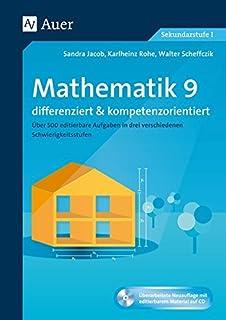 Selbstkontrollaufgaben Mathematik Klasse 9: Lehrplanrelevante ...