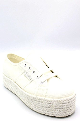 Canvas Womens Cotcoloropew Superga Bianco 2790 Trainers TAxwFgqHt