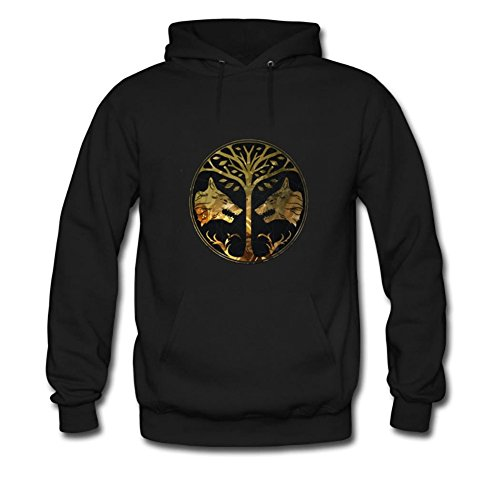 Tomoin Men's Destiny Iron Banner Hoodies Long Sleeve O Neck Hoody Medium (Banner Hoody)