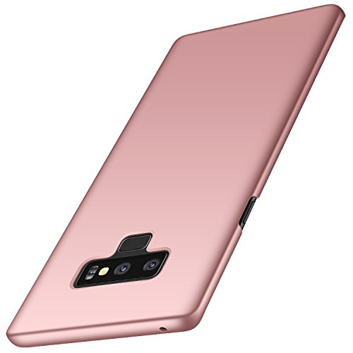 Galaxy Note 9 Case, Arkour Minimalist Ultra Thin Slim Fit Cover with Smooth Matte Surface Hard Cases for Samsung Galaxy Note9 (2018) - Smooth Rose Gold
