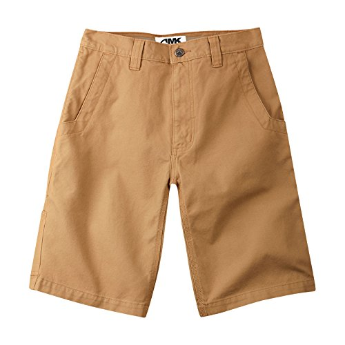 Mountain Khakis Men's Organic Alpine Utility Short Relaxed Fit, Ranch, 35W 11In - 11 Ranch