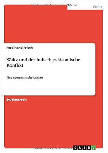 Book Waltz und der indisch-pakistanische Konflikt