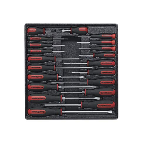 - GEARWRENCH 80066 20 Piece Master Dual Material Screwdriver Set
