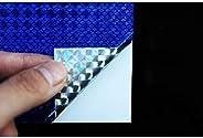 6 pcs 6 Colors 10X21cm Holographic Film Flash Laser Artificial Fish Skin DIY Jig Sticker Lure sticker Fly Tyin