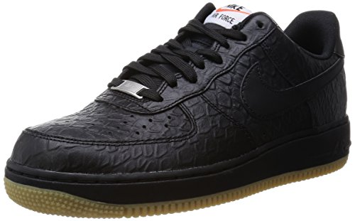 1 '07 Lv8 Nike Force Herren Air Sneakers Schwarz vc1O66R