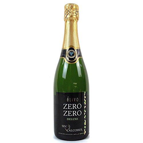 (Élivo Zero Zero Deluxe Sparkling Non-Alcoholic Sparkling White Wine 750ml)