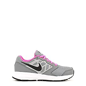 Nike Big Kids Downshifter 6 Running Shoes-Gray-6