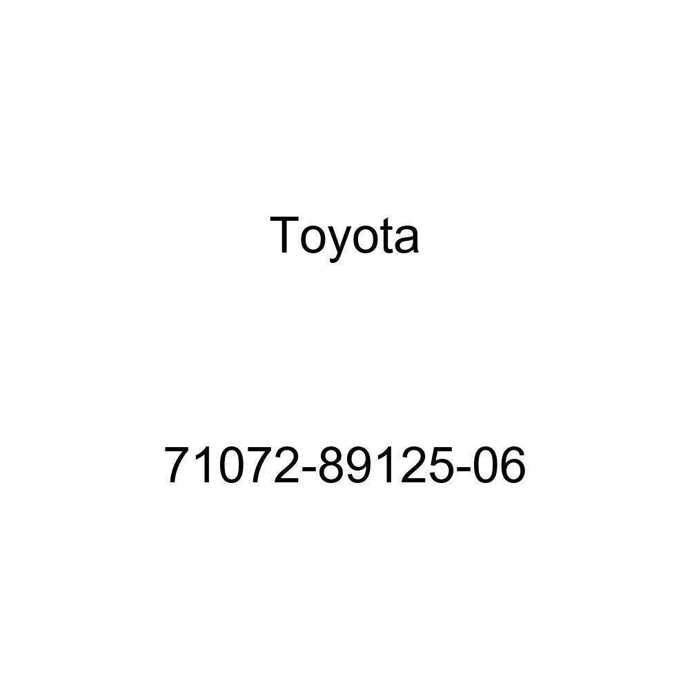 TOYOTA Genuine 71072-89125-06 Seat Cushion Cover