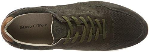 Marc OPolo 80123733501303, Sneaker Uomo Verde (Oliv)