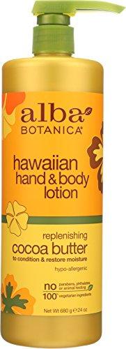 Alba Botanica Hawaiian, Cocoa Butter Hand & Body Lotion, 24 Ounce