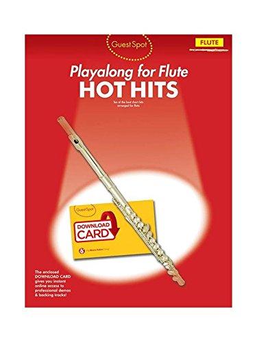 Read Online Guest Spot: Hot Hits - Flute (Book/Audio Download) pdf epub