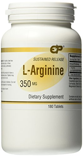 Endurance Products 350 mg L Arginine Sustained Release Supplement