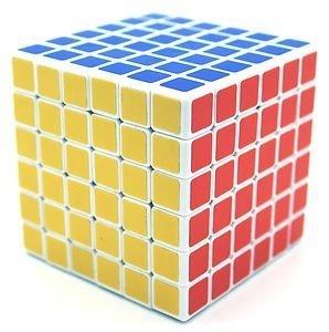 White Shengshou 6x6x6 Cube Puzzle - 6x6x6 Cubes