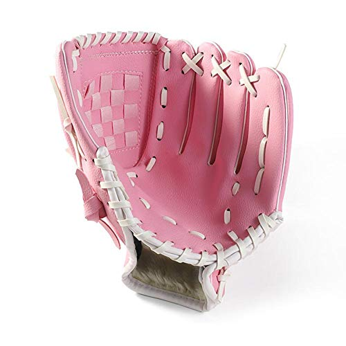 Luerme Baseball Glove Sports Batting Gloves Catchers Mitt with Baseball PU Leather Man Woman Training Practice Equipment Unisex Suit for Beginner