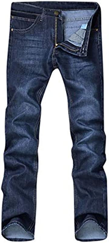 TOSISZ dżinsy męskie, luźne, jesień, zima, bawełna, Hip Hop, spodnie męskie, luźne, długie, spodnie męskie, spodnie typu slim fit, dżinsy, A, 36: Küche & Haushalt