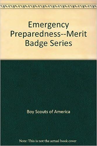 Emergency Preparedness Merit Badge Book