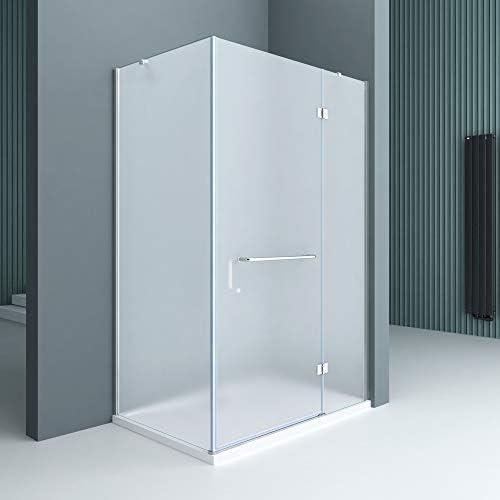 Sogood Cabina de ducha esquinera Rav04S 75x120x190cm, mampara de ...