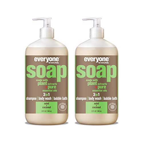 Everyone 3-in-1 soap, mint & coconut, 32 oz, ()
