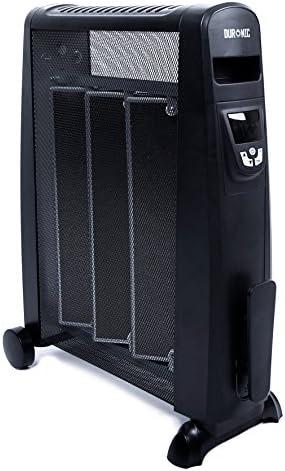 Duronic HV052 Radiador Eléctrico 1500W de Panel de Mica - Estufa sin aceite que calienta en 1 minuto – Control por Pantalla digital - Bajo consumo y ligero: Amazon.es: Hogar