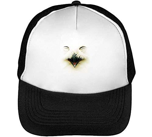 Gorras Negro Blanco Hombre Swag Snapback Beisbol Owl PX5wSx
