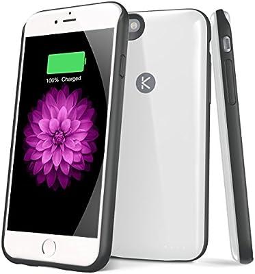 Amazon.com: kotech iPhone 6 6S batería Caso ultra slim ...
