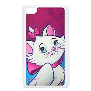 iPod Touch 4 Case White Aristocats Cell Phone Case Cover Y1S8XC