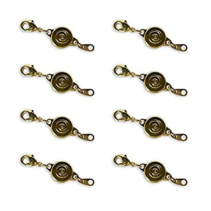 Set of 4 GOLD By Jumbl Locking Magnetic Clasps