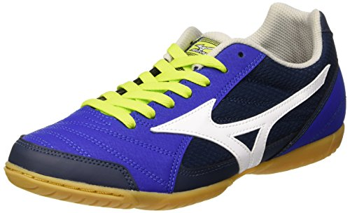 Mizuno Sala Club In, Botas de Fútbol para Hombre Blu (Surf The Web/White/Dress Blues)