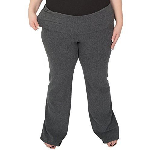 Stretch is Comfort Womens Foldover Plus Size