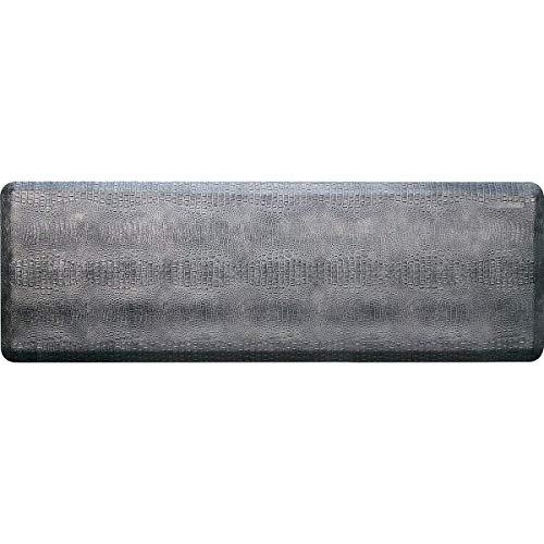 WellnessMats Croc Anti-Fatigue Mat - Comfort & Support - Non-Slip, Durable, Non-Toxic - 2'x6'x3/4