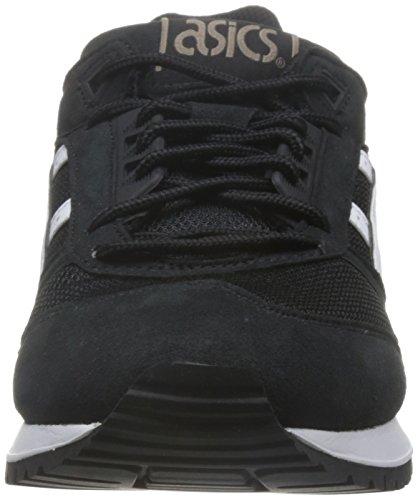 ASICS Uomo Nero/Bianco Gel-Respector Sneaker Black/White