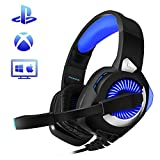 Wired Stereo Gaming Headset for Phoinikas H9 PS4 Xbox One, Over Ear Headphones