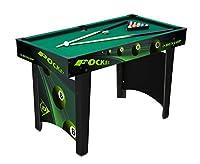 Dunlop 871125222676 - Pool Tisch, schwarz