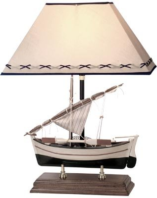 Sailboat Nautical Lamp