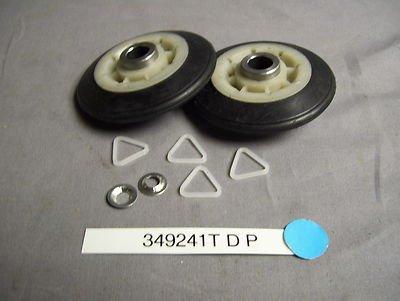 349241T 349241 DRYER DRUM ROLLER PAIR KE - Dryer Drum Support Roller Shopping Results