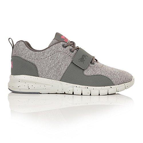 Marl Novas de Chaussures et Noir Pink Compétition Lonsdale Grey Running Femme Blanc vTagxSUn