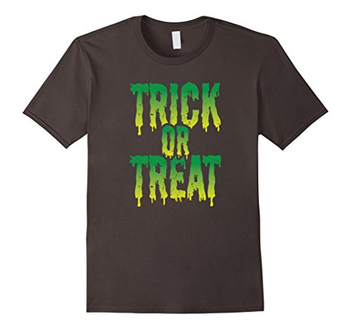 Mens Trick or Treat t-shirt | Halloween Costume Idea Medium (Halloween Tricks And Treats Ideas)