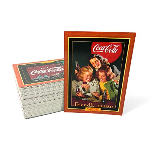 - 1995 Coca Cola Collection Series 4 Trading Card Set (100) NM/MT