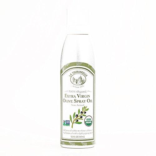 La Tourangelle Organic Extra Virgin Olive Oil Spray 5 oz each (4 Items Per Order, not per case)