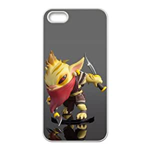 iPhone 4 4s Cell Phone Case White Defense Of The Ancients Dota 2 BOUNTY HUNTER 001 PWI3487513