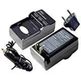 DIGI TECH Replacement Wall + Car Battery Charger for Canon EOS Digital Rebel EOS DS6041 FV10 FV100