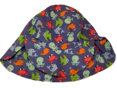 Image Unavailable. Image not available for. Color  Toddler Boys Navy Blue  Sun Hat ... c2987fc036e