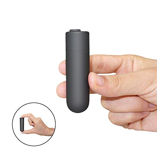 Mini Bullet Waterproof Powerful Vibrating Mini Wand with Multi-Speed with 10 Strong Patterns Female Masturbation Toy