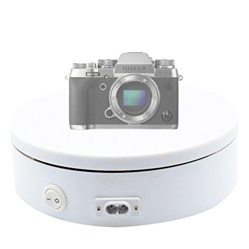Revolving Circular Cake Display - Foto&Tech Professional Electric Self Rotating 8
